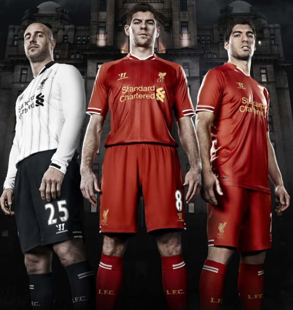 New Liverpool Kit 13 14