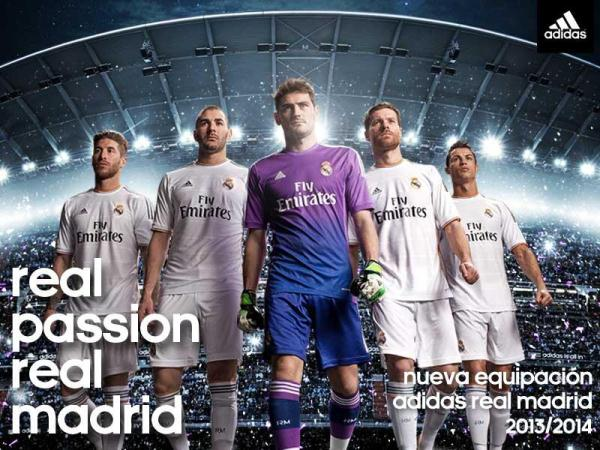 New Real Madrid Kit 13 14