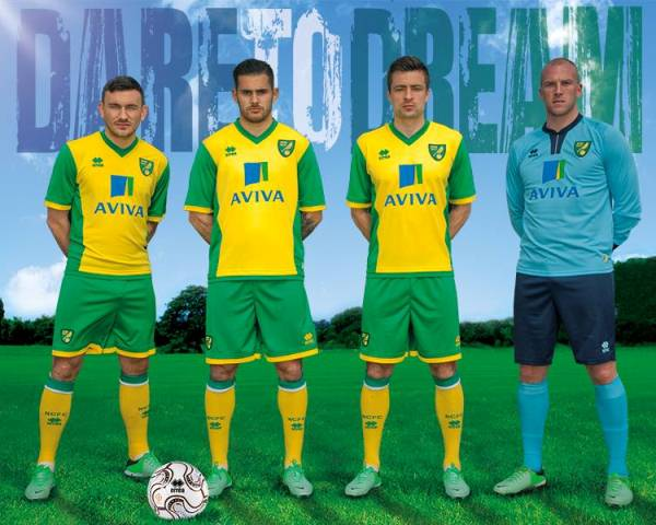 Norwich City Home Shirt 2013 2014
