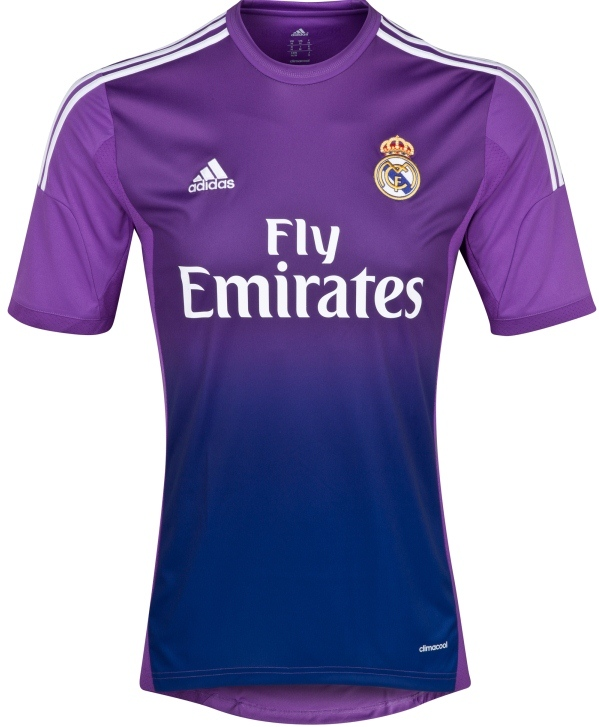 Real Madrid Goalkeeper Kit 2014