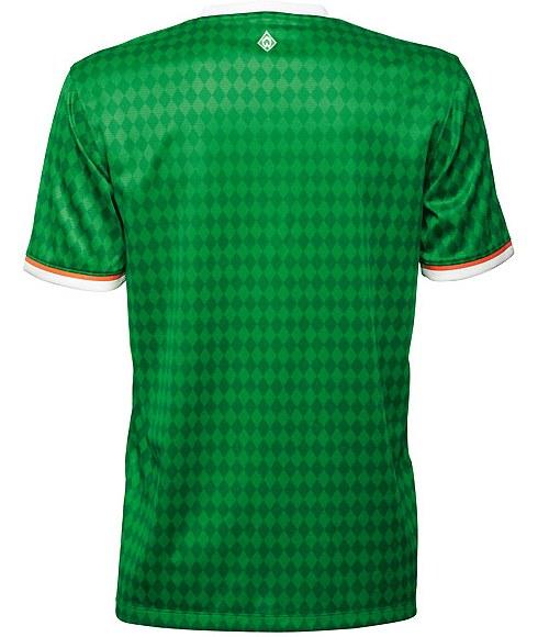 Werder Bremen Shirt 2014 Back