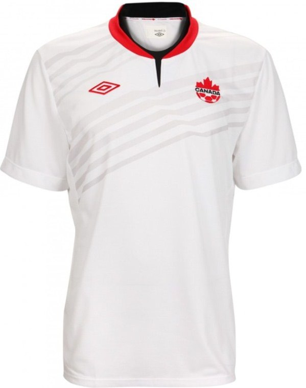 White Canada Soccer Jersey 2014