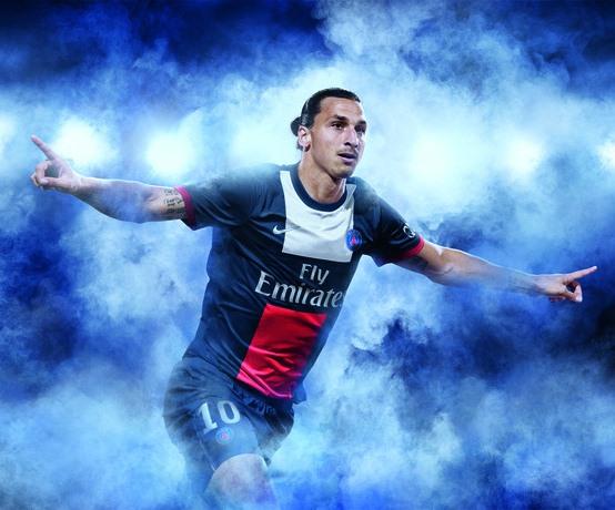 Zlatan Ibrahimovic PSG Jersey 2013