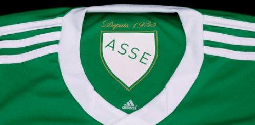 New St Etienne Kits Tiga Empat Adidas Asse Home Away Jerseys Tiga Empat Football Kit News New