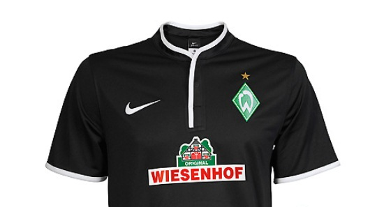 nike shox 454166 - New Werder Bremen Away Kit and Black Event Shirt 2013-14 Nike ...