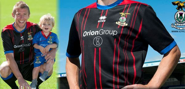 Caley Thistle Away Kit 2013 2014