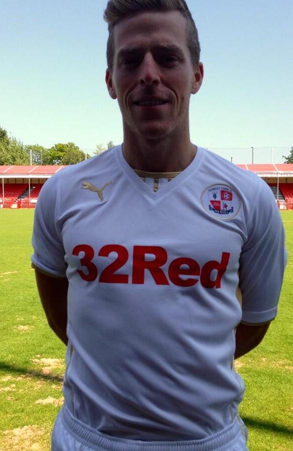 Crawley Town Away Kit 2013