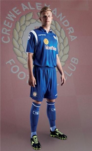 Crewe Away Kit 2013 14