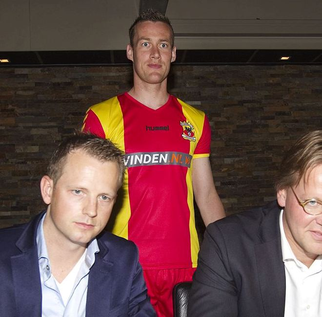 Hummel Go Ahead Eagles Shirt 2013 2014