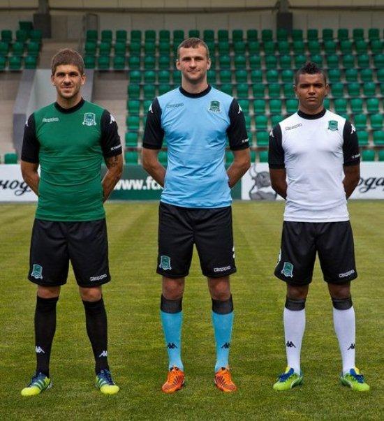 Kappa FC Krasnodar Kits 2013 14