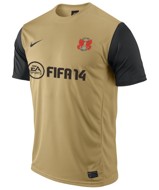 Leyton Orient Away Kit 2013 14