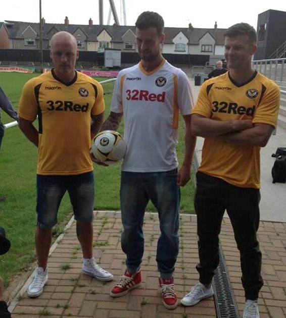 Macron Newport County Kit 2013 14
