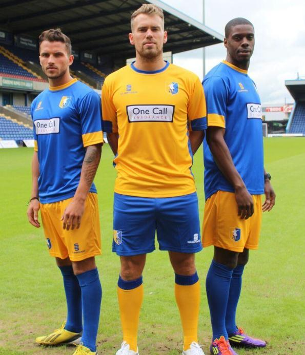 Mansfield League Two Shirt 2013 14
