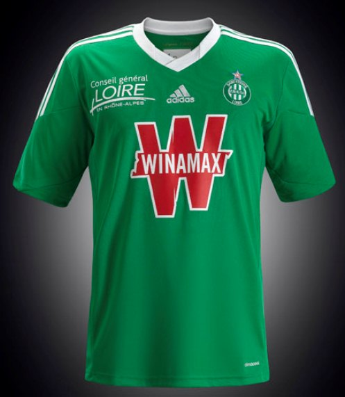 New ASSE Maillot 2013 14