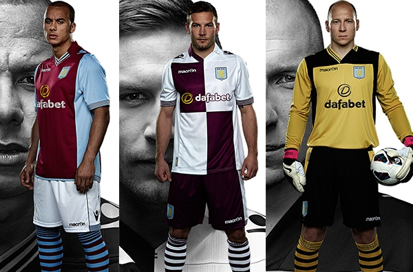 New Aston Villa Kit 13 14