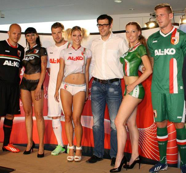 New Augsburg Kits 13 14