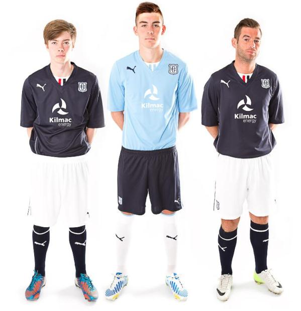 New Dundee FC Strip 13 14