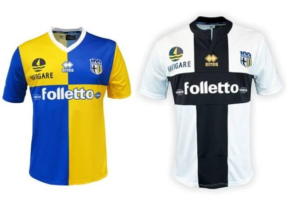 New Errea Parma Soccer Jersey 2013