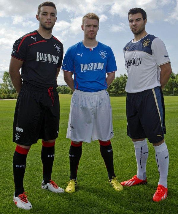 New Rangers Kit 13 14