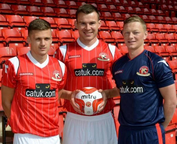 New Walsall Kit 2013 14