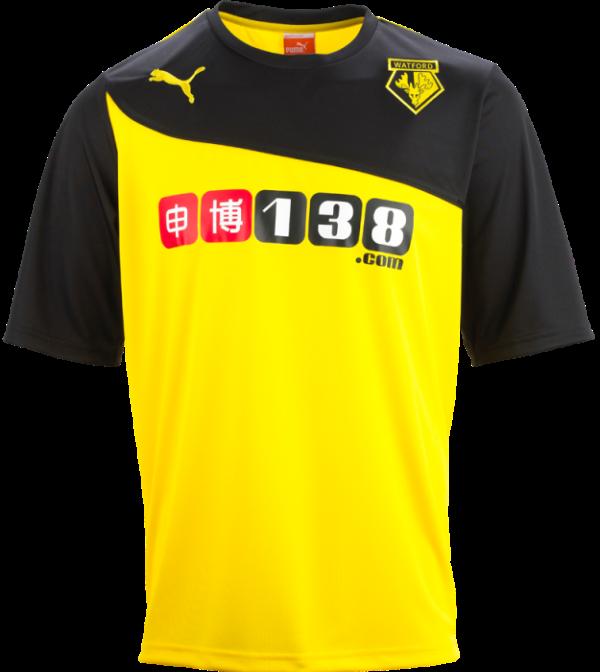 New Watford Football Shirt 2013