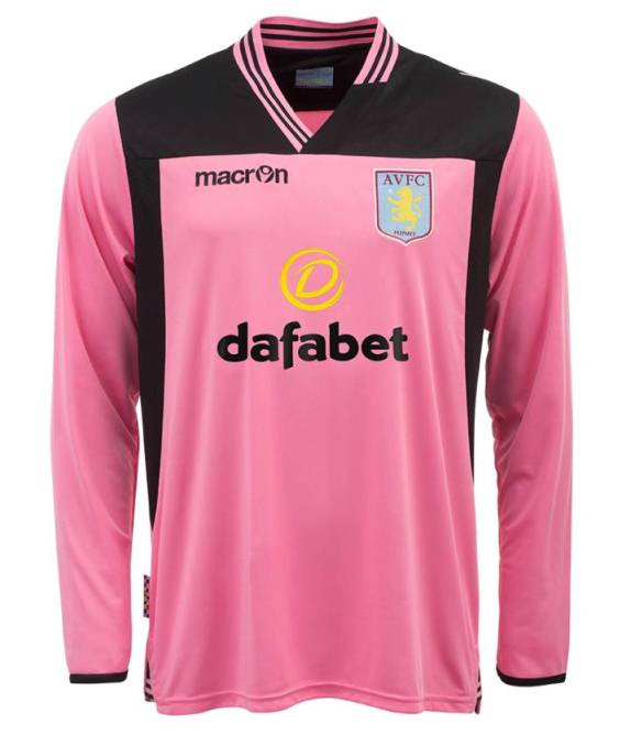 Pink Villa Goalkeeper Kit