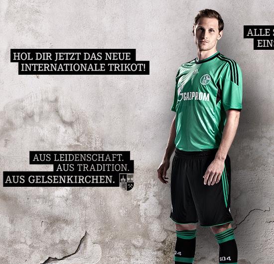 Schalke Champions League Shirt 2013