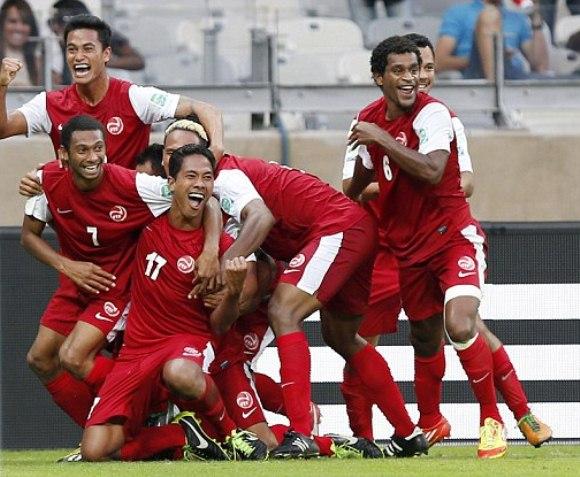 Tahiti Confederations Cup Kit 2013