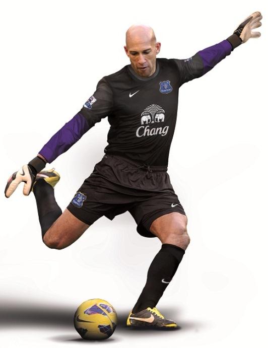 Tim Howard Everton GK Kit 2014