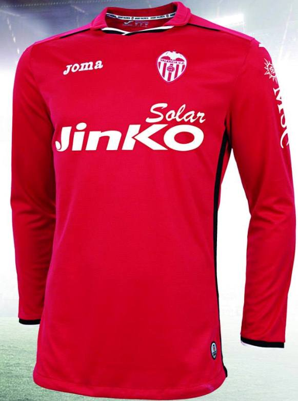 Valencia Goalkeeper Jersey 2013 14