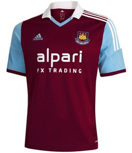 West Ham Alpari Shirt 2013