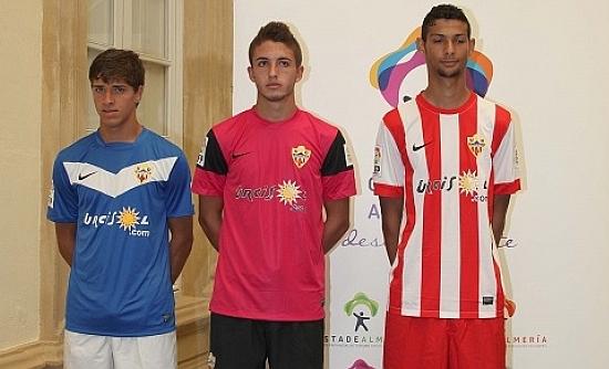 Almeria Football Shirt 13 14