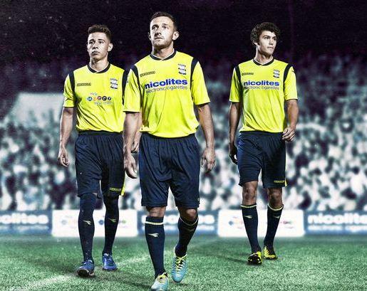 BCFC Yellow Shirt 2013 14