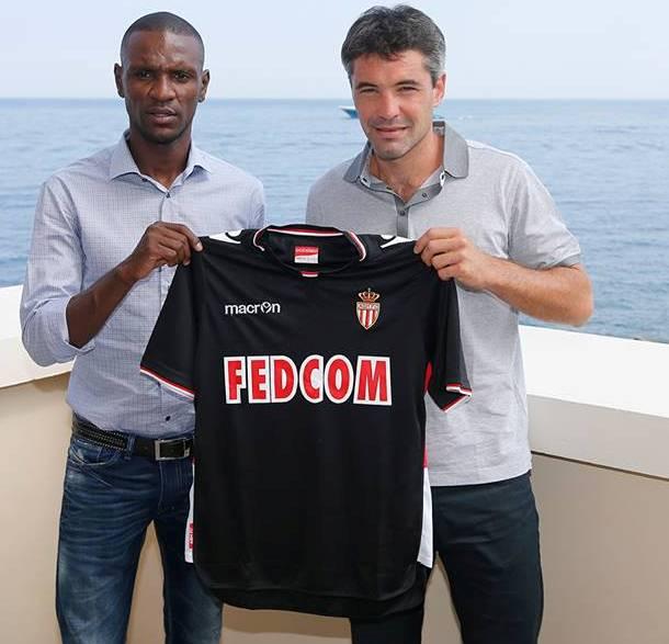 Black AS Monaco Away Shirt 13 14