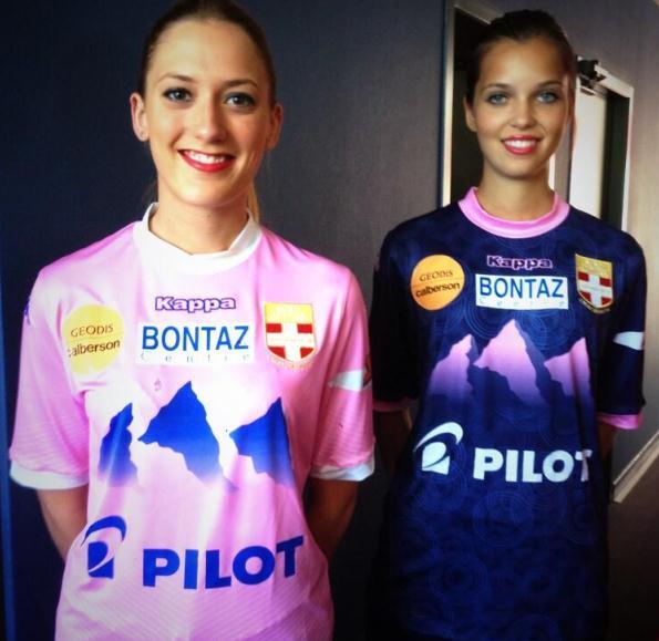 Evian Football Shirt 2013 14