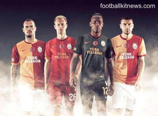 Galatasaray Third Kit 13 14