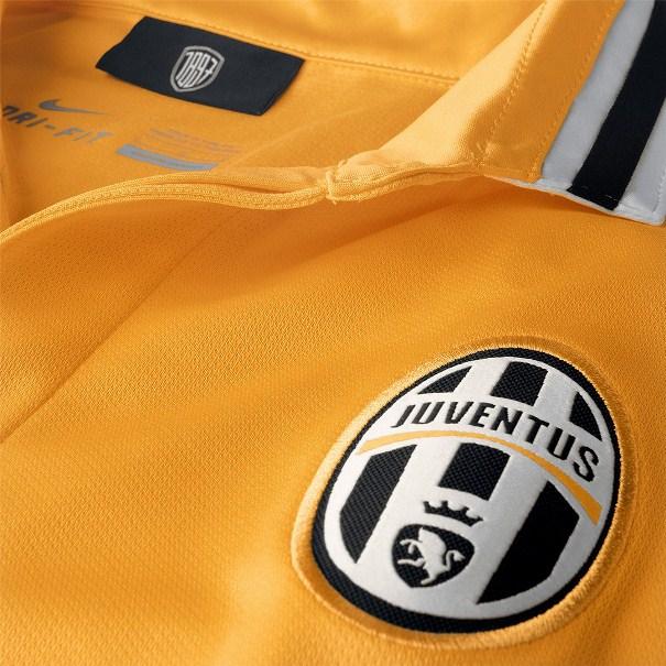 Juve Away Kit Yellow