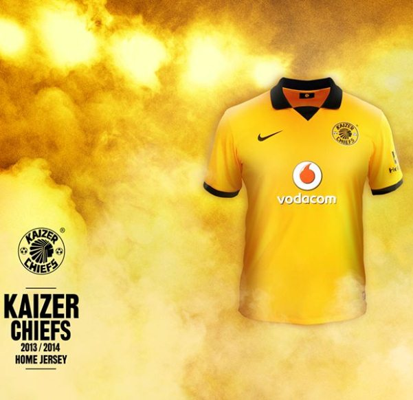 Kaizer Chiefs New 2013 2014 Jersey