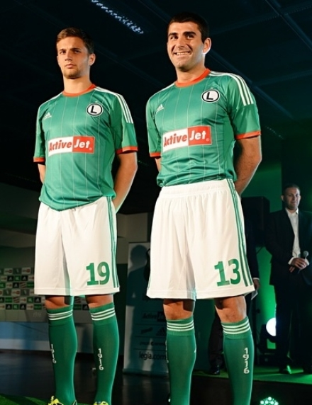 Legia Warsaw Away Kit 2013 2014