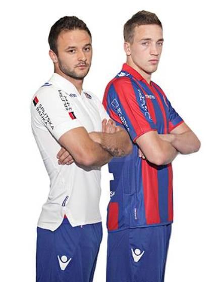 Macron Hajduk Split Kit 13 14