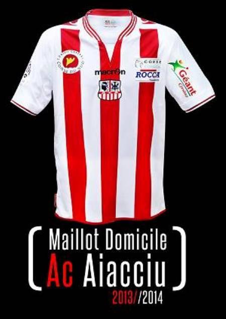 New Ajaccio Jersey 2014