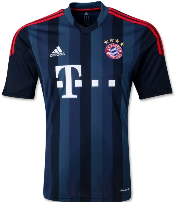 New Bayern Munich Champions League Kit 2013 14