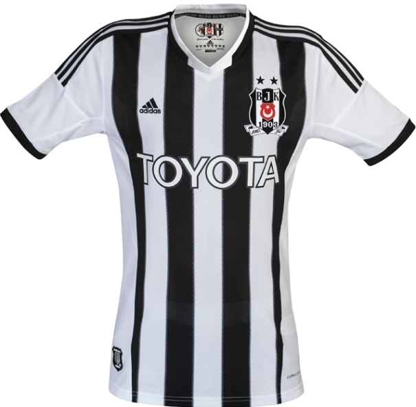 New Besiktas Home Kit 2013 14