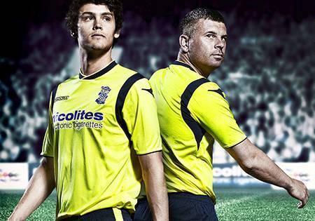 New Birmingham City Away Kit 13 14
