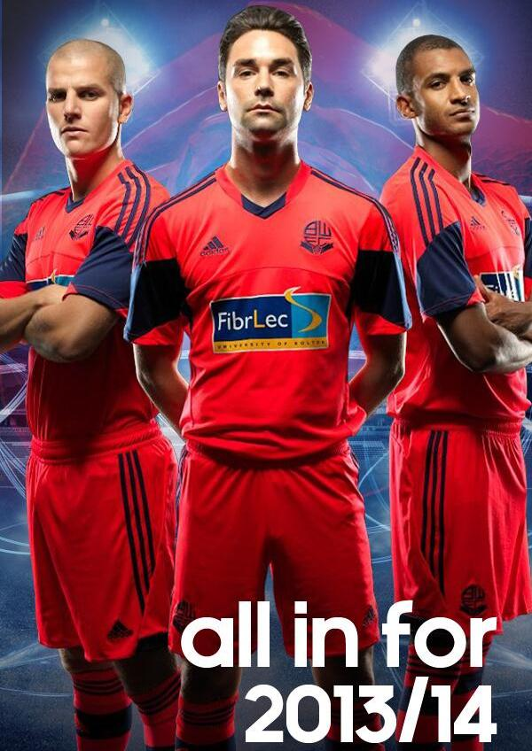 New Bolton Away Kit 2013 14