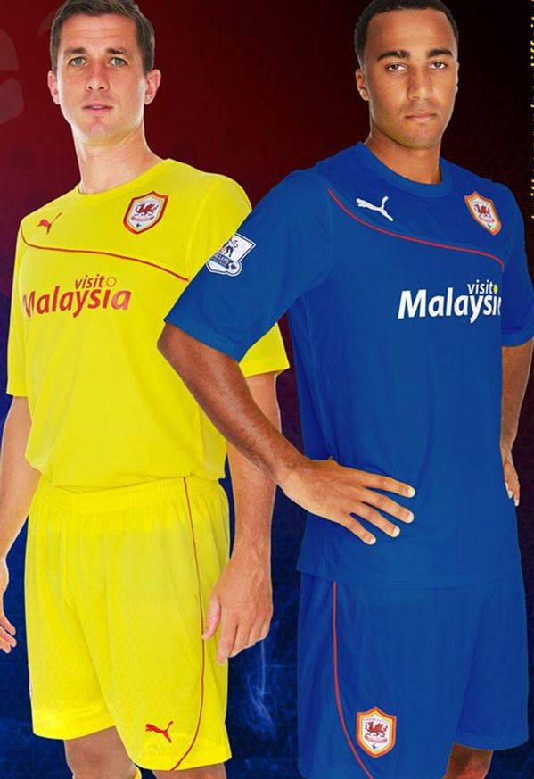 New Cardiff City Away Kit 2013 2014