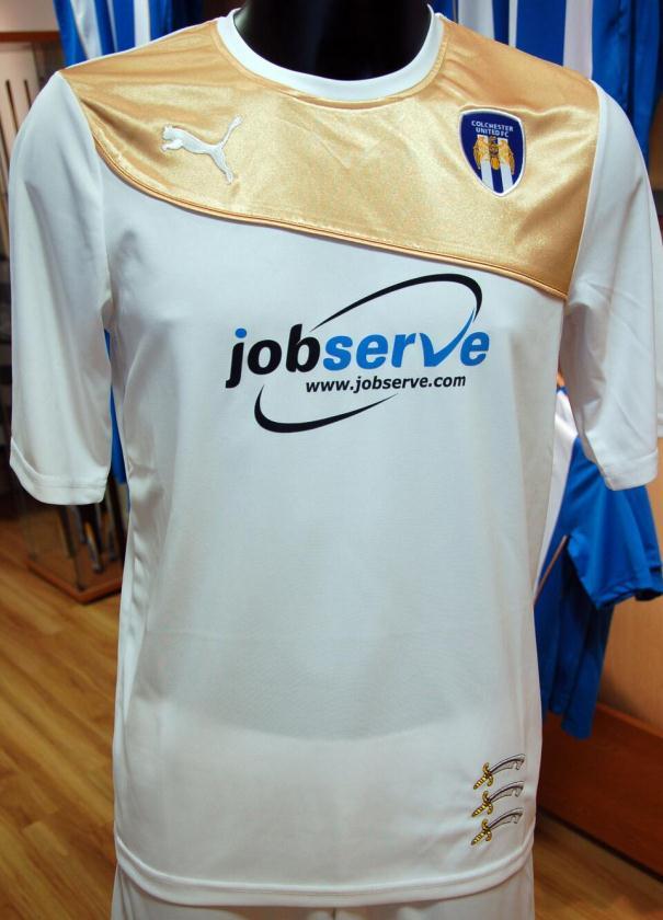 New Colchester United Away Kit 2013 14