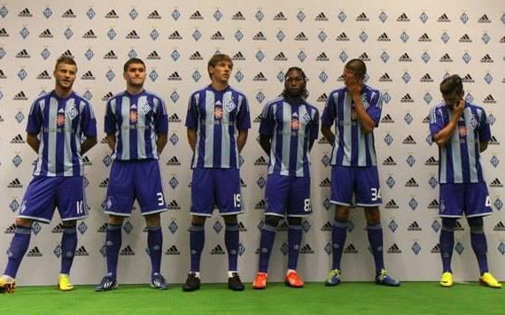 New Dinamo Kiev Kit 2013 14