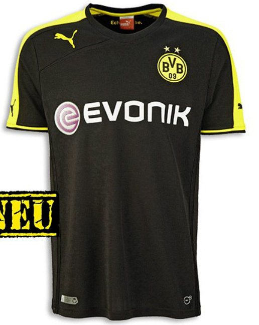 New Dortmund Away Shirt 2013 2014