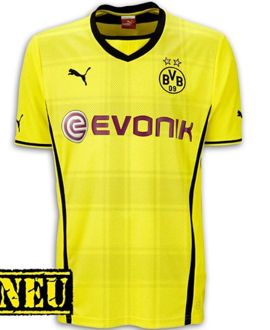 New Dortmund Home Shirt 2013 14